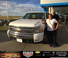 Congratulations to Derek and Pam Brown on your #Chevrolet #Silverado 1500 purchase from Gene Klinkerman at Four Stars Auto Ranch! #NewCar