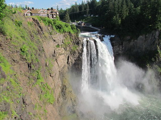 Snoqualmie Falls and Great Northern