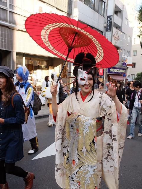 Kagurazaka Bakeneko Parade 2014-29