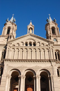 Cathedral in La Rioja, Argentina