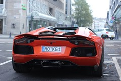 Wing UP - Lamborghini Aventador Lp700-4 Roadster