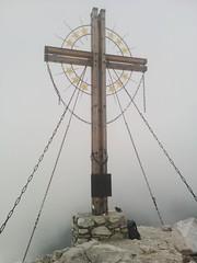 Gipfelkreuz Großer Kinigat 2.689 m