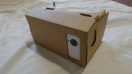Google Cardboard ประกอบร่างกับ Nexus 5