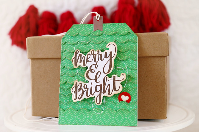 merry and bright {mama elephant stamp highlights}