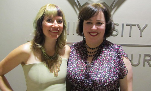 Lauren Beukes and Helen Moffett