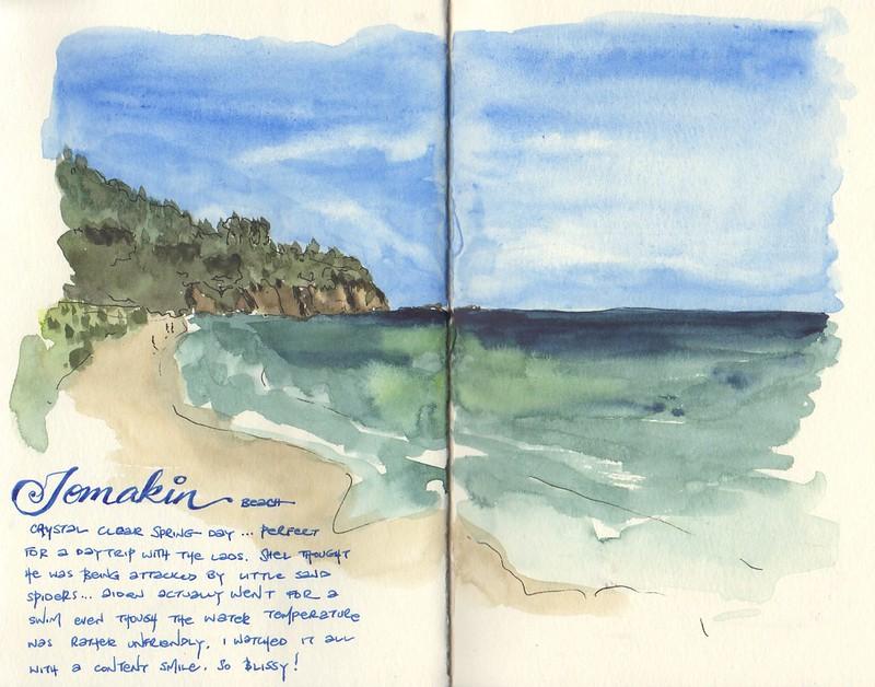 20141002 - Tomakin beach