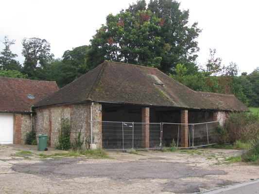 The tractor shed