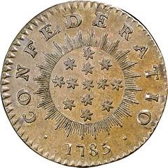 1785 Inimica Tyrannis Cent reverse