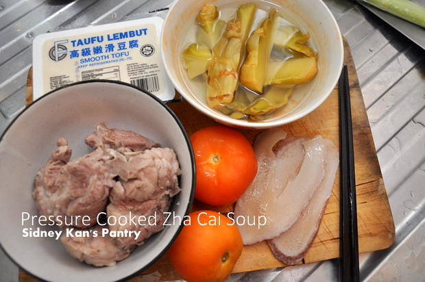 Recipe Zha Cai Soup at Sidney's Pantry 2