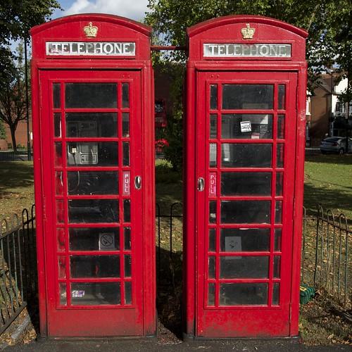 Acton Green Telephone Boxes 1