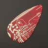 red circuit guitar pick