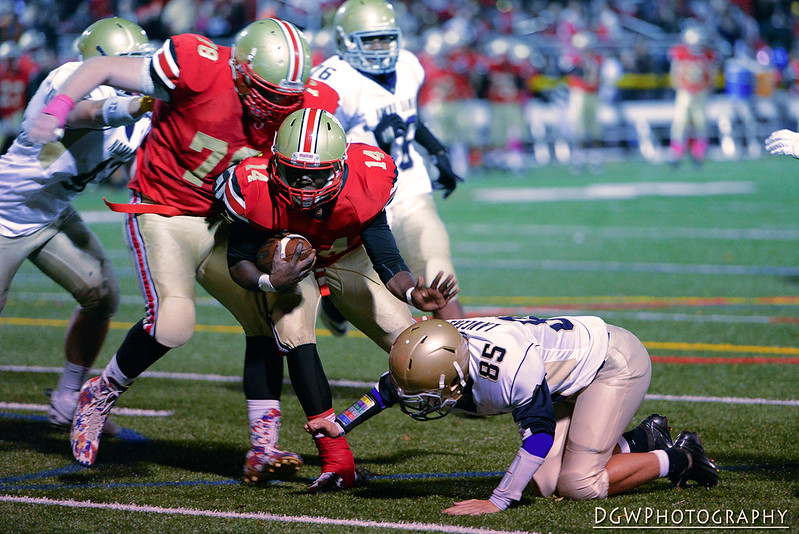Stratford vs. Notre Dame of Fairfield - High School Football