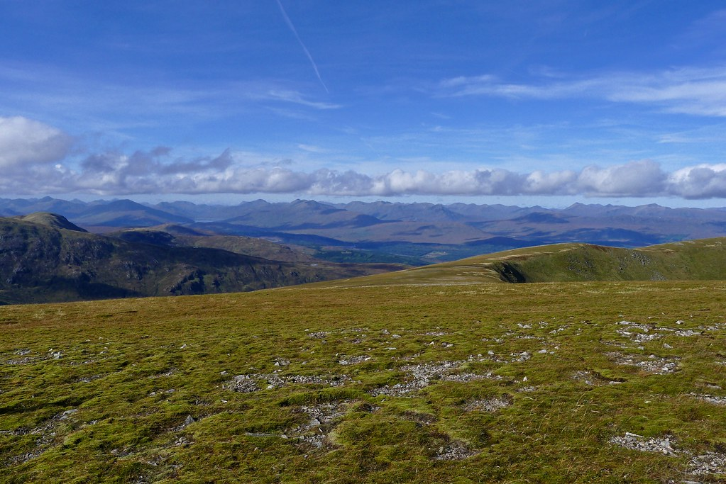 Over Glen Garry from Sron a'Choire Ghairbh