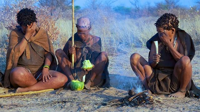San Bushwomen