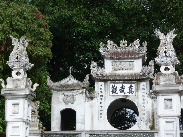 Templo en Hanoi (Vietnam)