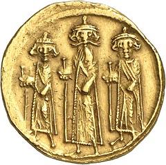 226a ARABO-BYZANTINIE COINS. Umayyads. Undated