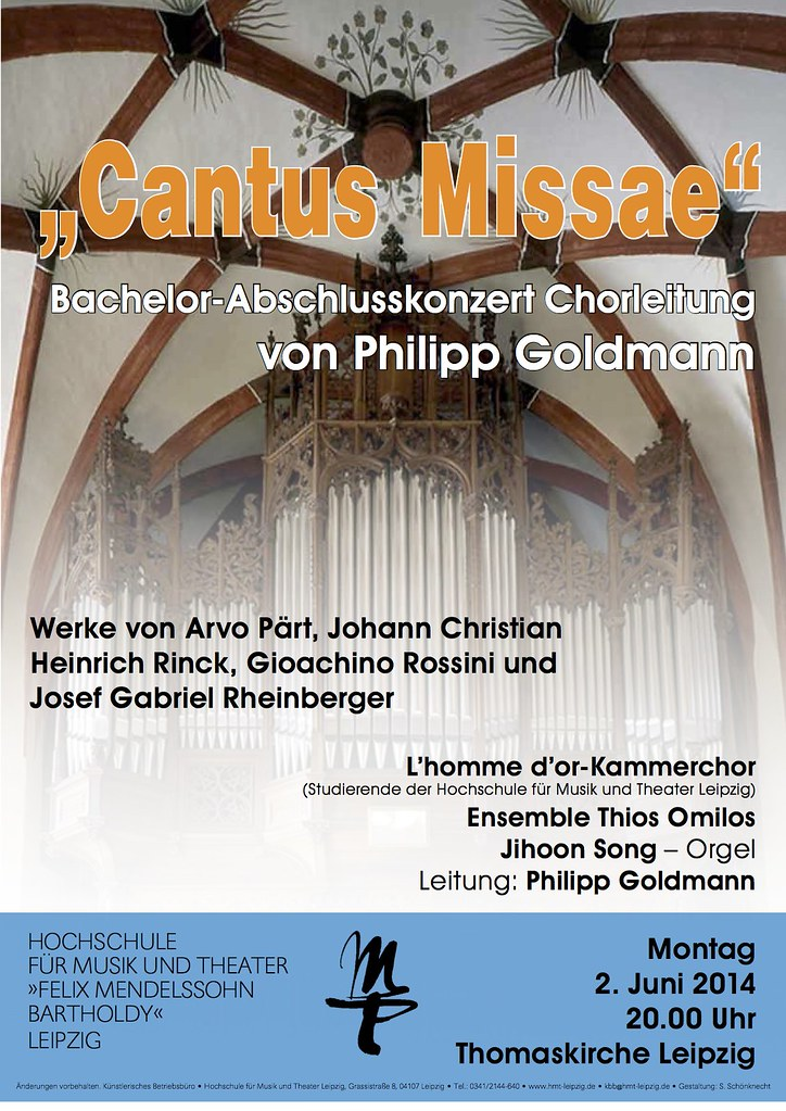 02.06.2014 Cantus Missae