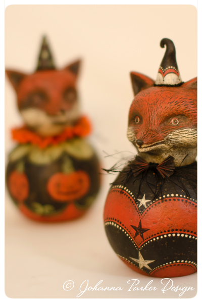 Halloween-Foxes