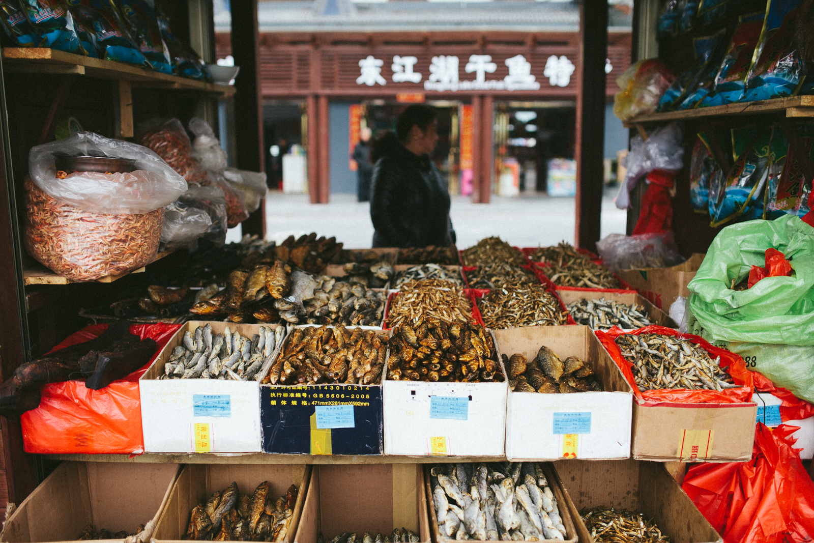 China Travel Fish Stall