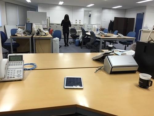 オーシャンブリッジ新オフィス新オフィス