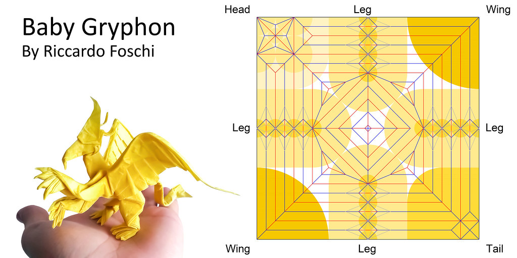 Origami Baby Gryphon CP Riccardo Foschi