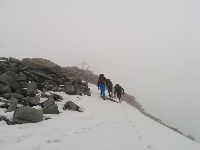 Gipfel Hoher Weißzint 3.371 m