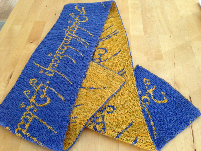 The one ring scarf 2014 commission