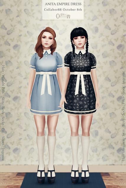 Anita Empire Dress