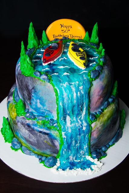 Kayak Cake