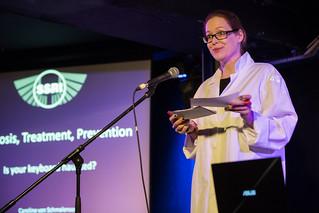 Caroline von Schmalensee at Illicit Ink Undergroupnd Technobabble