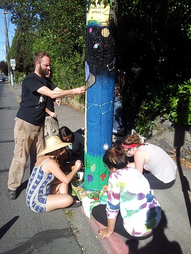 Pole Painting Project 2014