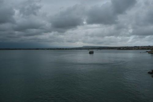 Ortigia: vista sul mare