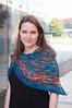 Anne's Brightness & Contrast Shawl