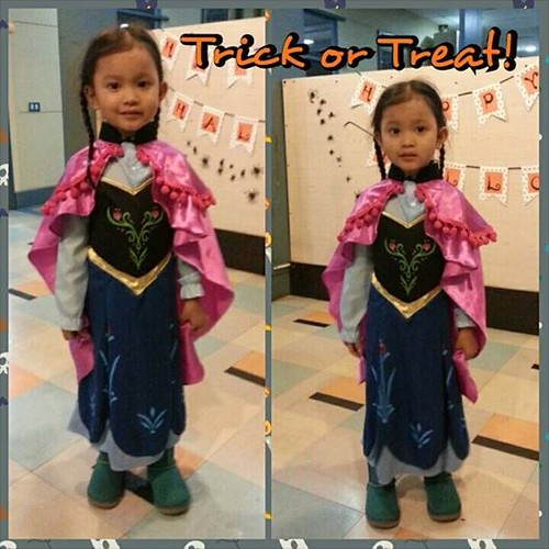 Trick or Treat 2014: Princess Anna