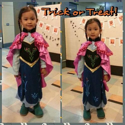 Trick or Treat 2014: Princess Anna