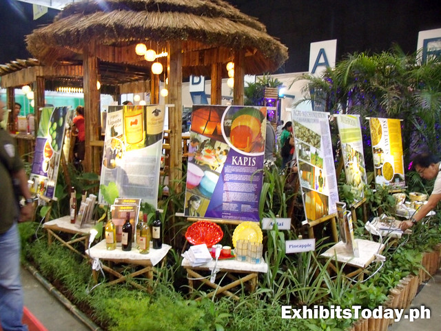 Kapis exhibit booth