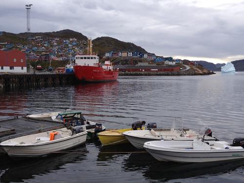 Greenland Qaqortoq Harbour