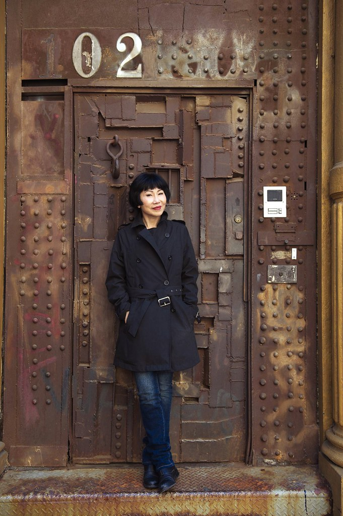 Author Photo - Amy Tan (credit to Rick Smolan)
