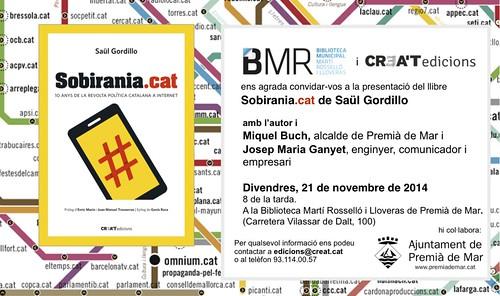 Sobirania.cat a Premià de Mar