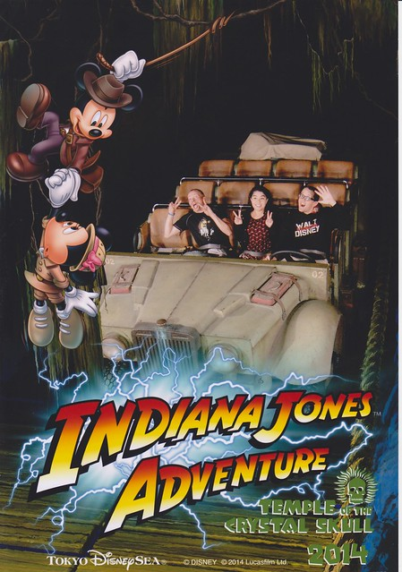 Tokyo DisneySea - Indiana Jones Adventure On-ride Photo