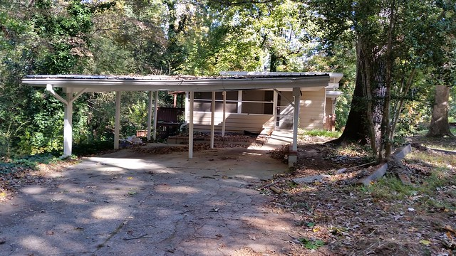 20141103_103125 2014-11-03 1785 North Druid Hills Rd Teardown Modern splitlevel split level double carport