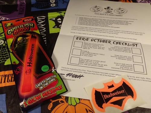 Dino Drac Funpack Oct. 2014 Letter