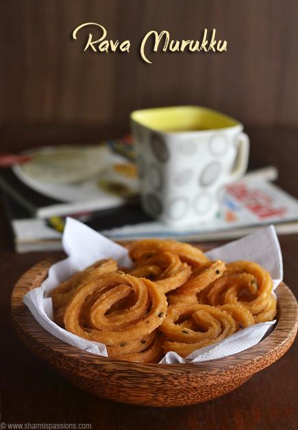 Rava Murukku Recipe