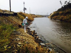 Mapping Radioactivity in riverbeds and seabeds around Fukushima power plant