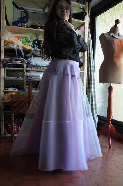 Jupon de la robe Kloé