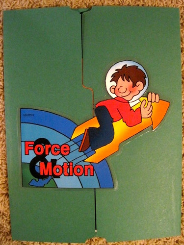 Force & Motion Lapbook Cover