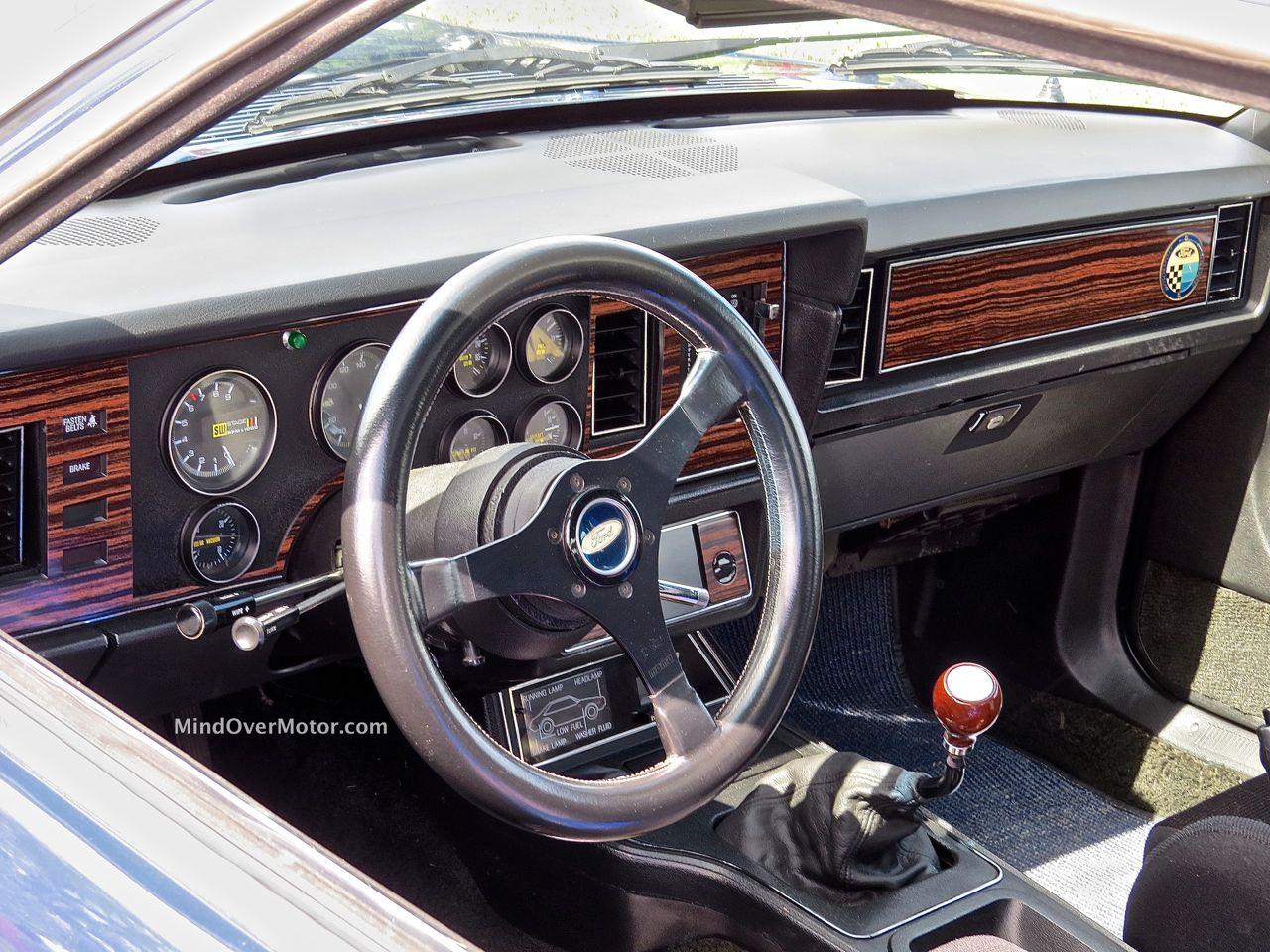 IMSA Mustang Interior