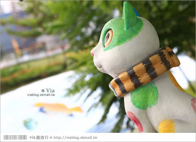 【南科幾米】台南|台積電南科幾米裝置藝術小公園~願望盛開‧許諾之地26