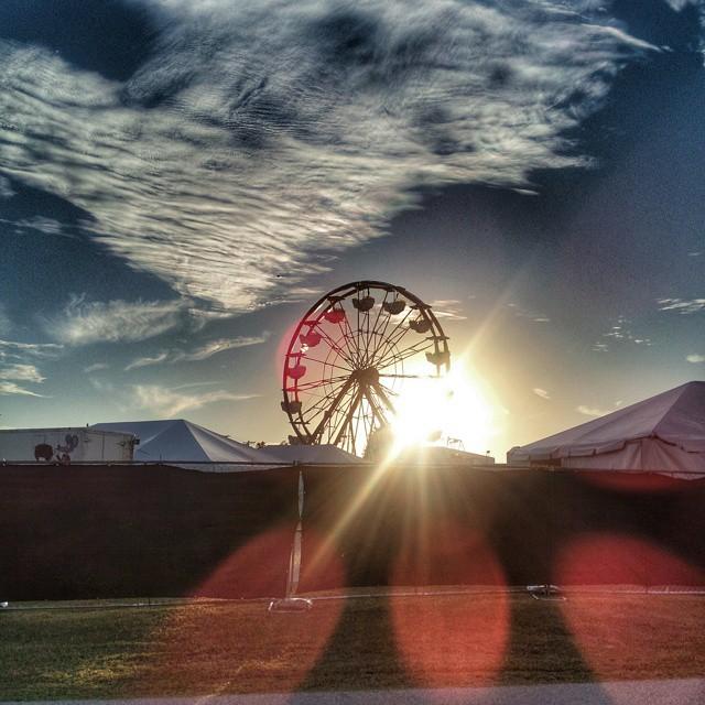 #octoberfest #ferriswheel #sunset #igersok #igerstulsa #myoklahoma