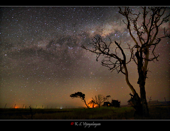 Milky way @ Anakie